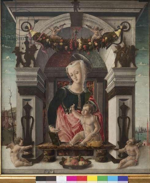 Madonna and Child, 1456-60 (tempera on Panel)