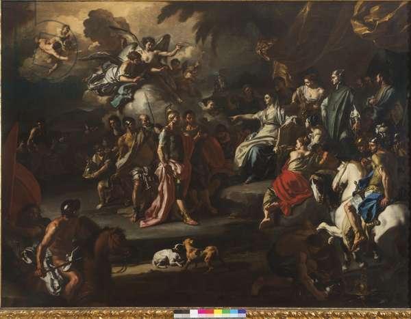 The Prophetess Deborah, 1720-25 (oil on canvas)