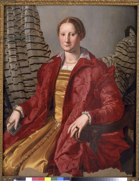 Portrait of a Lady, c.1550-55 (oil on panel)