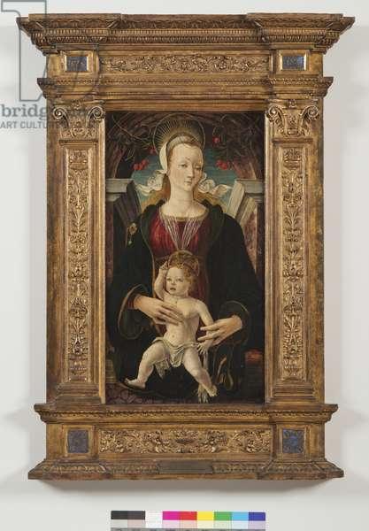 Madonna and Child, 1470-80 (tempera on panel)
