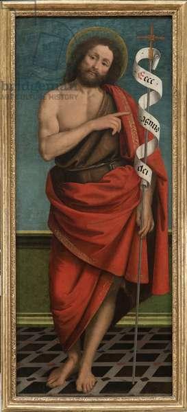 St John the Baptist, c.1517-18 (oil on wood)