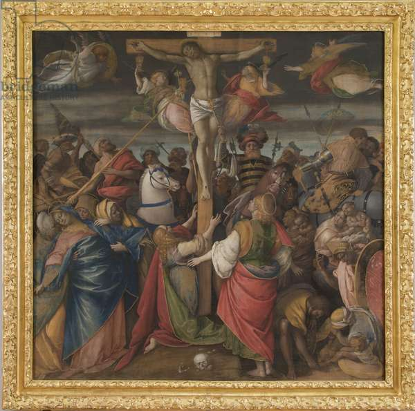 Crucifixion, 1530-40 (Tempera and oil on canvas)