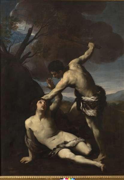 Cain kills Abel, 1617-18 (oil on canvas)