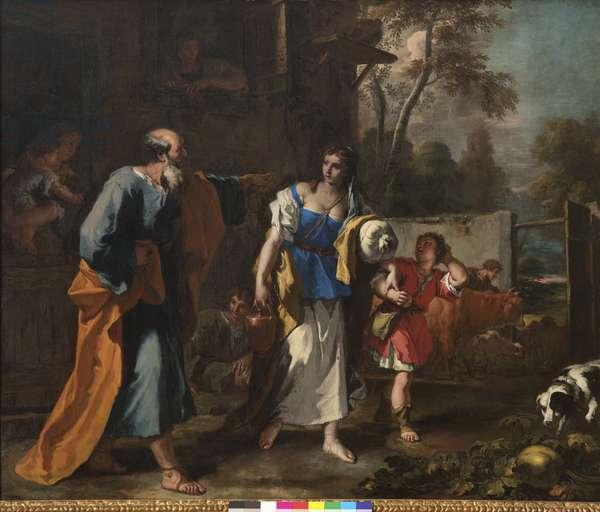 Ripudiation of Hagar, c.1724 (oil on canvas)