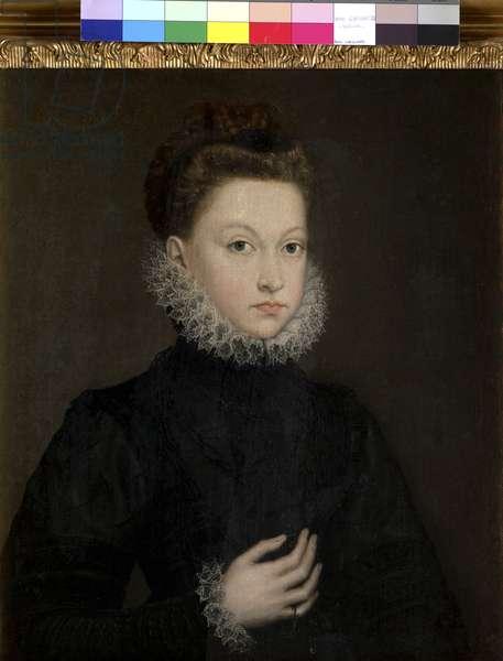 Portrait of the Infanta Isabella Clara Eugenia, 1573 (oil on canvas)