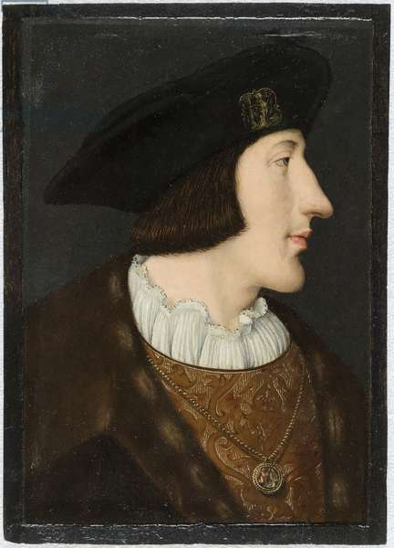 Portrait of Charles III of Savoy called the Good, c.1518-21 (tempera on panel)