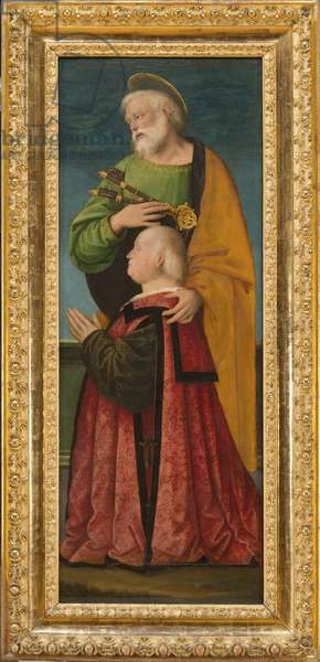 St Peter and a Donor, c.1517-18 (oil on wood)