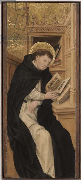 Saint Dominic, 1462-70 (tempera, mixed media and gold on wood)
