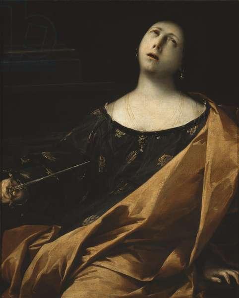 Death of Lucretia, 1633-35 (oil on canvas)