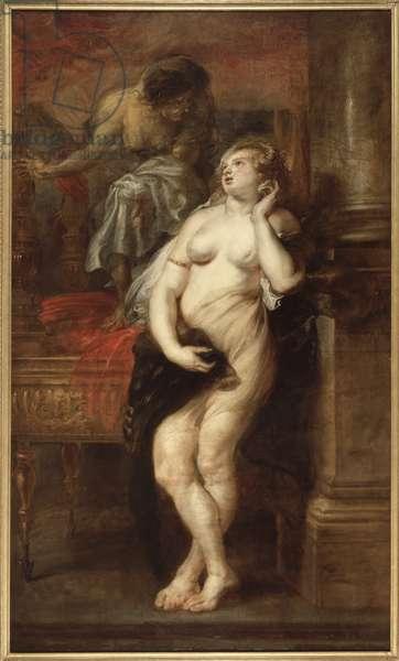 Deianira Tempted by Fury, c.1638 (oil on canvas)