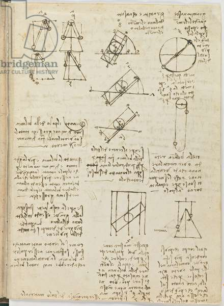 Birds Flight Code, c. 1505-06, paper manuscript, cc. 18, sheet 1 recto