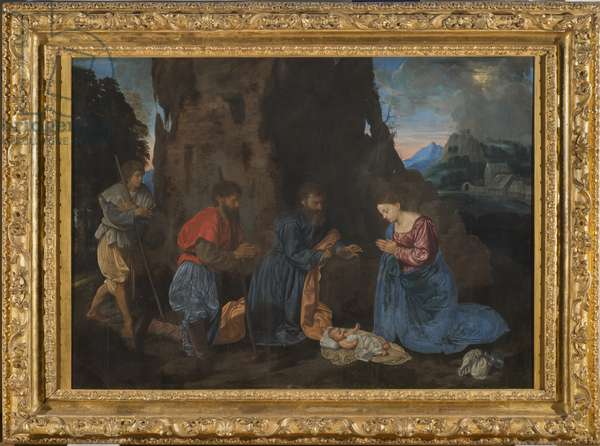 Adoration of the Shepherds, c.1522-23 (oil on panel)