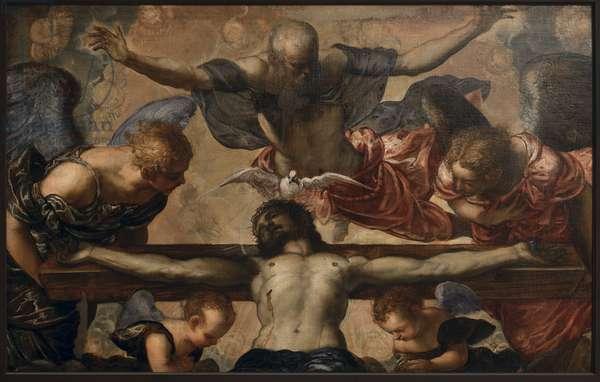 The Trinity, c.1561-62 (oil on canvas)