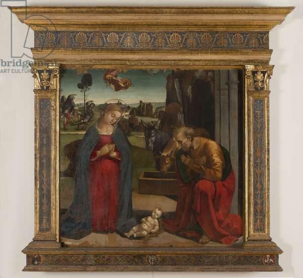 Nativity of Jesus, 1497-98 (tempera on canvas)