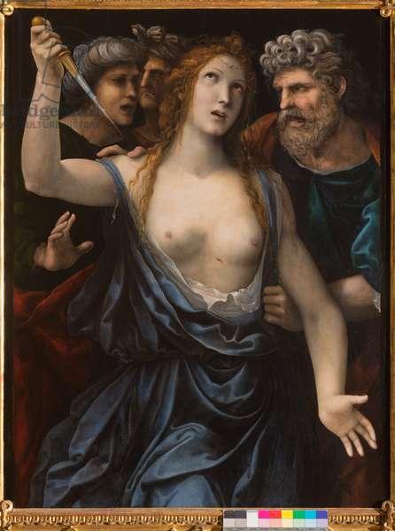 Death of Lucretia, c.1515 (oil on panel)