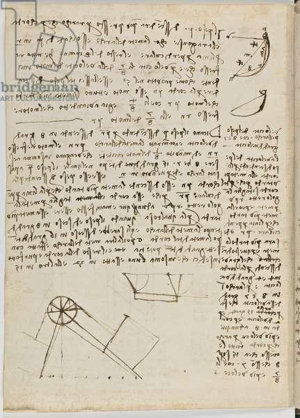Birds Flight Code, c. 1505-06, paper manuscript, cc. 18, sheet 1 verse