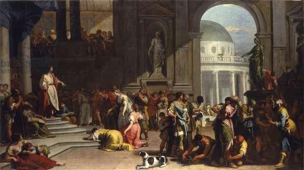 Susanna before Daniel, 1725-26 (oil on canvas)