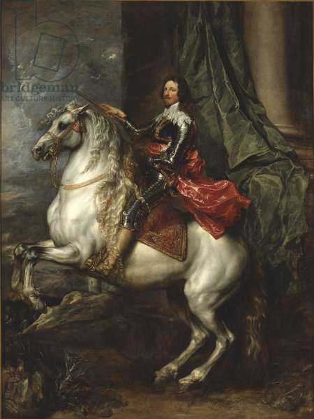 Equestrian Portrait of Thomas Francis of Savoy, Prince of Carignano, 1634 (oil on canvas)