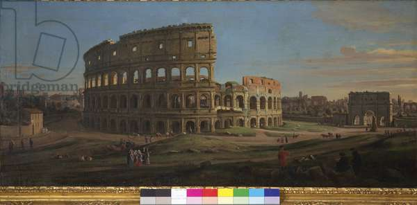 The Colosseum, 1711 (oil on canvas)