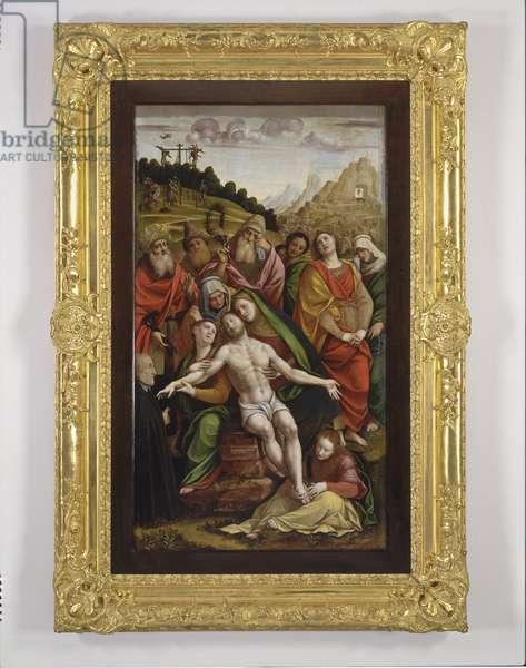 Lamentation over the Dead Christ, 1558 (tempera on board)