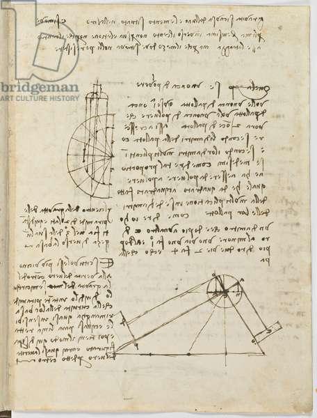Birds Flight Code, c. 1505-06, paper manuscript, cc. 18, sheet 2 recto