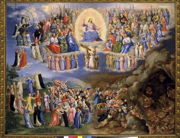 Last Judgment, c.1570-71 (oil on copper)