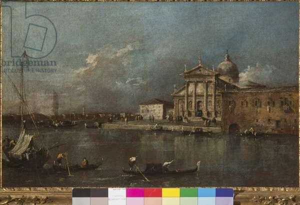 View of San Giorgio Maggiore from the Giudecca, 1774-91 (oil on canvas)
