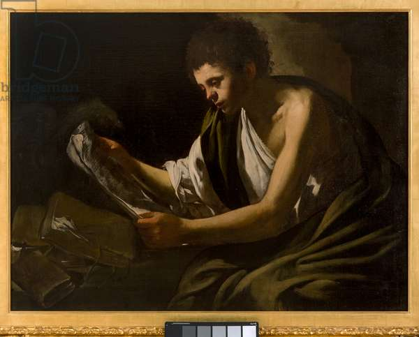 St John the Evangelist, c.1621-24 (oil on canvas)