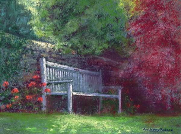 Rest Awhile, 2003 (pastel on paper)