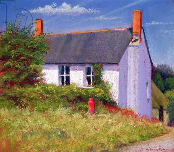 The Red Milk Churn, 2003 (pastel on paper)