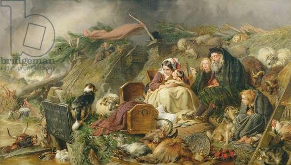 A Highland Flood, c.1864