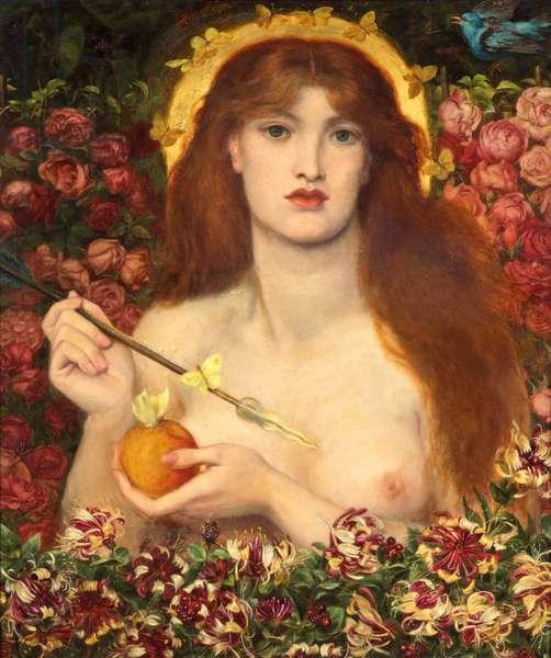 Venus Verticordia, 1864-68 (oil on canvas)