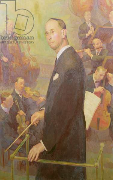 Sir Dan Godfrey (1868-1939), Conductor and Director of Music to the Corporation of Bournemouth 1893-1934, 1936