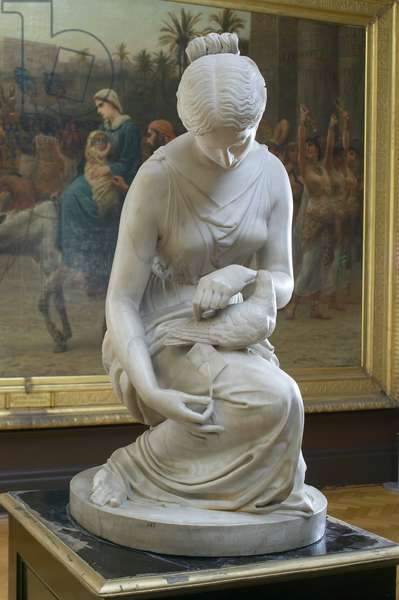 The Messenger, 1832-35 (marble)