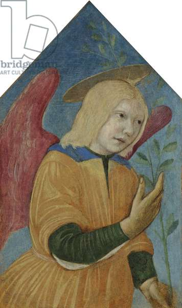 Angel of the Annunciation (tempera on panel)