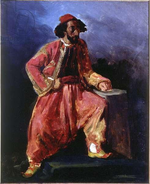 Portrait of a Turkish Man, c.1826 (oil on canvas)