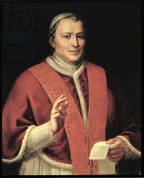 Pope Pius IX, Giovanni Mastai-Ferreti (1792-1878) (oil on canvas)