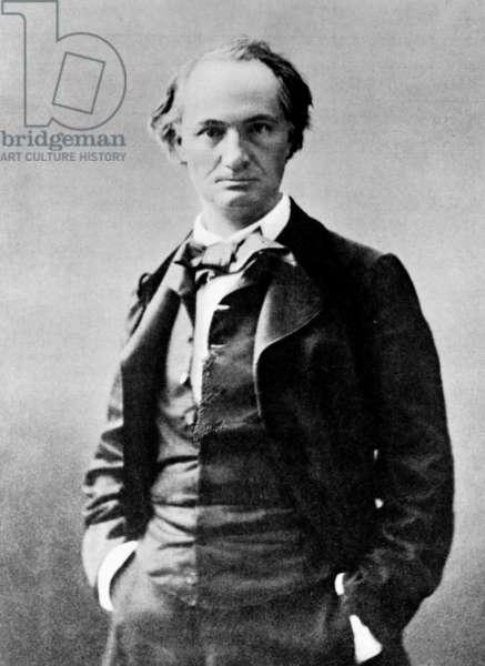 Charles Baudelaire (b/w photo)