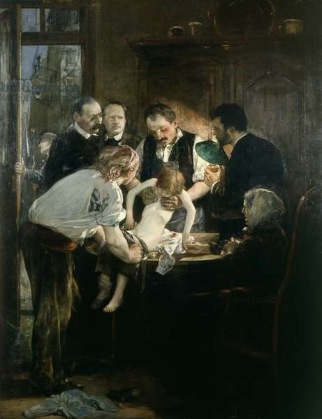 Memory of the Night of the 4th, 1880 (oil on canvas)