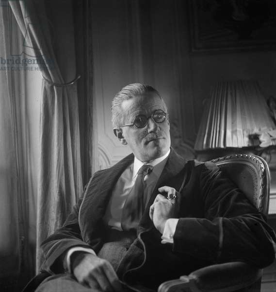 James Joyce, 1934 (b/w photo)