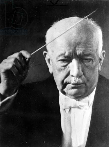 Richard Strauss (b/w photo)