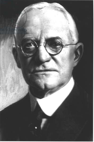 George Eastman (1854-1932) (b/w photo)