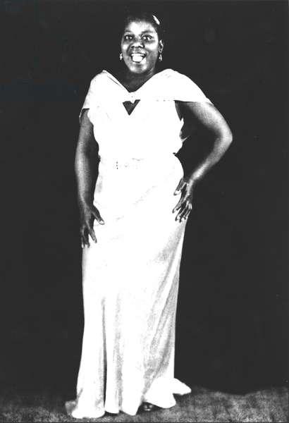 Bessie Smith (1894 or 1898-1937) (b/w photo)