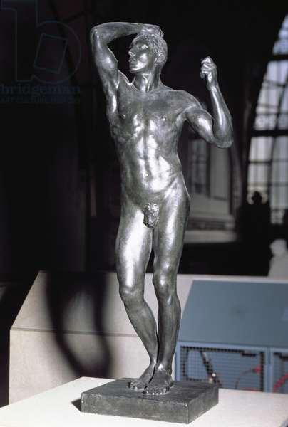 The Age of Bronze, cast by Thiebaut Preves after a plaster model made and exhibited in 1877 (bronze)