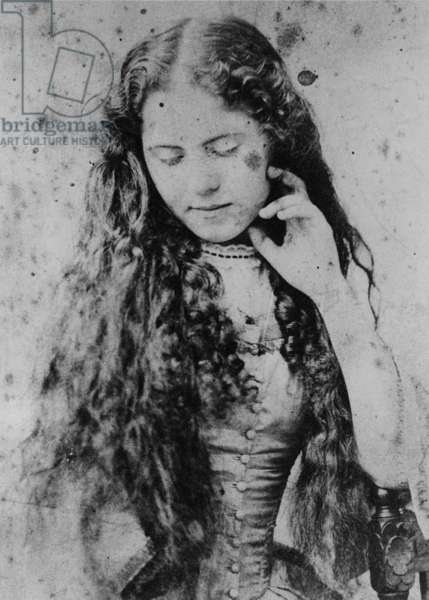 Eleanor Marx, at the age of 18, 1873 (b/w photo)