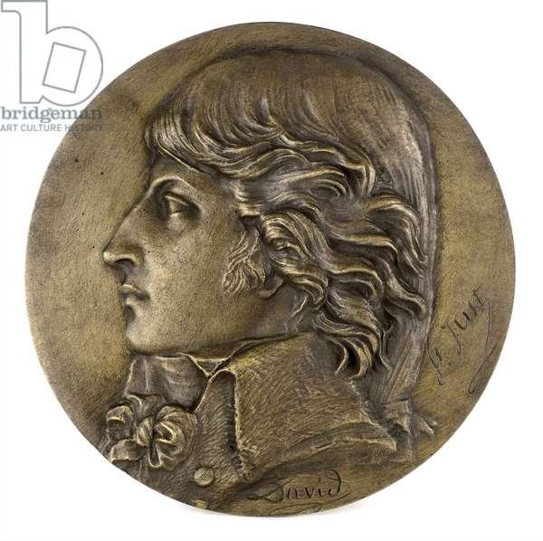 Louis Antoine Léon de Saint-Just (bronze)