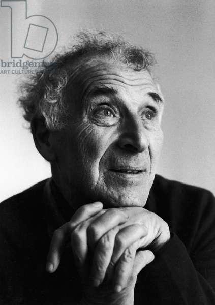 Marc Chagall (b/w photo)