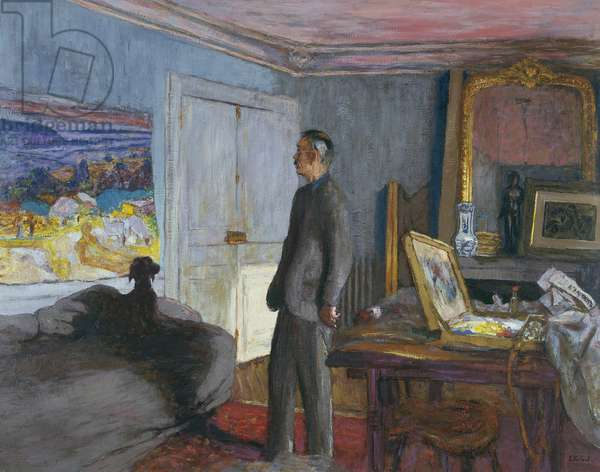 The Anabaptists: Pierre Bonnard, 1930-34  (oil on panel)