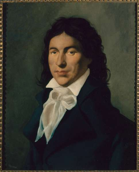 Camille Desmoulins (oil on canvas)