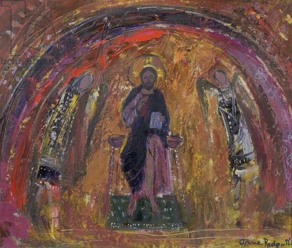 In a Chapel, Torcello (oil on canvas)